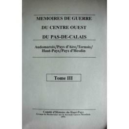 Mémoires de guerre n° 03
