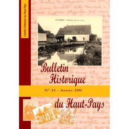 Bulletin Historique n° 81