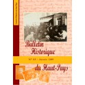 Bulletin Historique n°85