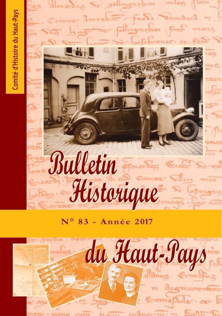 Bulletin Historique 83