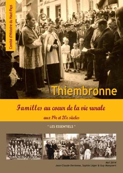 Couverture de l'ouvrage sur les familles de Thiembronne