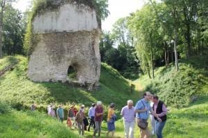Visite du château de Fressin