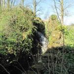 L'ancien moulin à eau de Surques a conservé sa pittoresque cascade