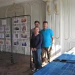 M., Mme Carlu et leurs enfants vous accueillent ce samedi pour faire découvrir leur demeure de Verchocq en cours de restauration