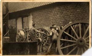 La forge du Marais à Thiembronne dans les années 1940