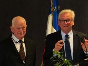 René et Jean-Claude Leroy, sénateur