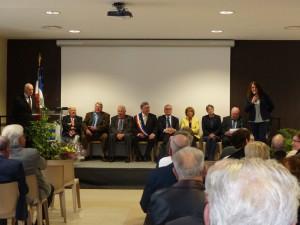 Le Comité d'Honneur et la Délégation