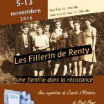 La Résistance et les Fillerin à Renty