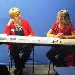 Chantal Dhennin, explicitant les promesses non tenues de La Bassée