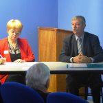 Isabelle Clauzel et Eric Vaneufville traitant du cas d'Estaire et Merville