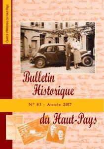Le Bulletin Historique n° 83