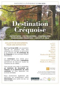 Destination Créquoise : l'événement à venir