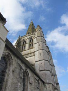 Le clocher artésien de l'église de Merck-Saint-Liévin