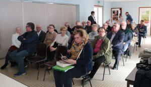 Les Comitéens réunis à Merck
