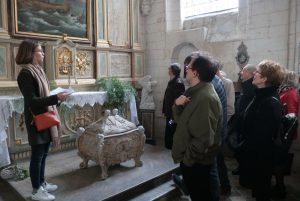 La châsse de Saint Liévin (et non pas de Sophie Léger comme on pourrait le penser...)