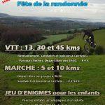 Affiche programme de la Fête de la Rando à Loison