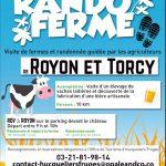L'affiche-programme de Rando-ferme le 12 mai