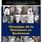 L'affiche de l'exposition consacrée à la Résistance et la Libération du pays boulonnais