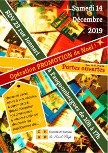 L'affiche Portes ouvertes 2019