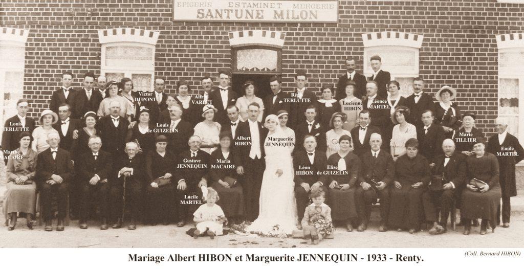 Renty M Hibon-Jennequin 1933